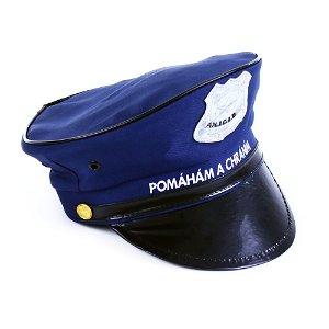 Rappa Policejní čepice dětská