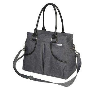 BO JUNGLE Přebalovací taška B-CASUAL Dark Grey