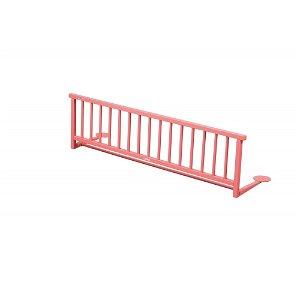 Dřevěná zábrana k posteli růžová