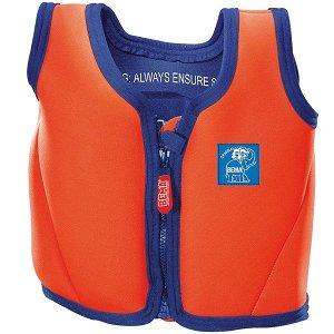 BEMA plovací vesta pro děti 4-6 let oranžová