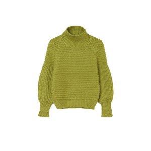 MAYORAL dívčí pletený svetr zelená - 140 cm