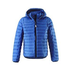 REIMA dětská bunda s odepínacími rukávy Fleet - modrá - 110 cm