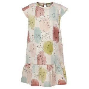 EN FANT dívčí šaty tečky růžová - 92 cm