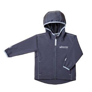 ESITO Dětská softshellová bunda letní Mono šedá Vel. 80