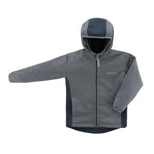 ESITO Dětská softshellová bunda DUO šedá / Vel. 80