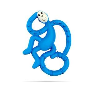 MATCHSTICK MONKEY kousátko s antimikrobiálním povrchem BioCote modrá