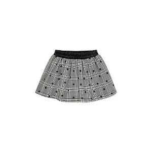 MAYORAL dívčí sukně kostičkovaná třpytivá šedá - 116 cm