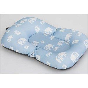 SIMPLY GOOD polštářek na koupání miminka Elephant - modrá