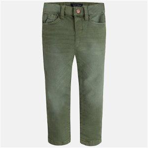 Mayoral Chlapecké kalhoty - tmavě zelené - 104 cm