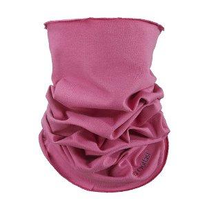 LITTLE ANGEL Nákrčník multifunkční tenký Outlast® barva tm.růžová