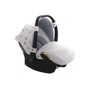 JUNAMA autosedačka 0-13kg BabySchild Glow 02 White/Gold