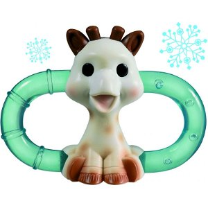 VULLI dvojitý chladící kousací kroužek žirafa Sophie