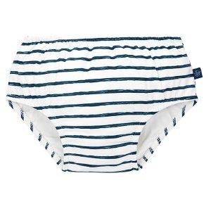 LÄSSIG Swim Diaper Boys stripes navy 24 mo., plavky