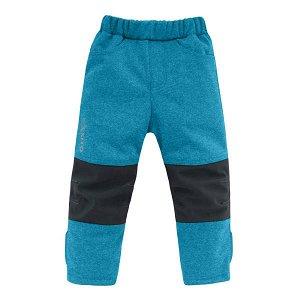 ESITO Dětské softshellové kalhoty DUO petrolejová / Vel. 80
