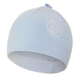 LITTLE ANGEL Čepice smyk kojenecká obrázek Outlast® - sv.modrá Vel. 0 | 33-35 cm