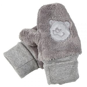 LITTLE ANGEL Rukavice s palcem MAZLÍK Outlast® velikost 1, barva šedá/sv.šedá