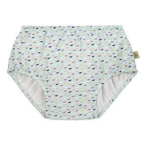 LÄSSIG Plavky Swim Diaper Girls fish scales 18 mo