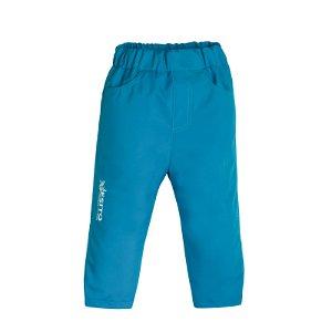 ESITO Dětské softshellové kalhoty letní Mono tyrkysová Vel. 80