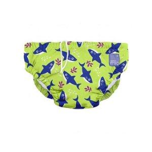 BAMBINO MIO Kojenecké plavky Neon Shark vel. XL