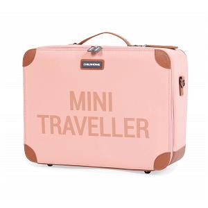 CHILDHOME Dětský cestovní kufr Pink Copper