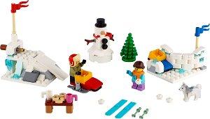 LEGO BrickHeadz 40424 Zimní koulovačka