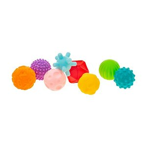 Sada senzorických hraček 8ks Akuku balónky, Dle obrázku