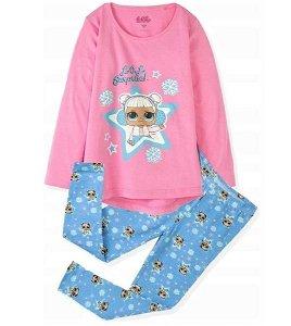 Dívčí pyžamo LOL (EM273), vel. 128/134, modro-růžová