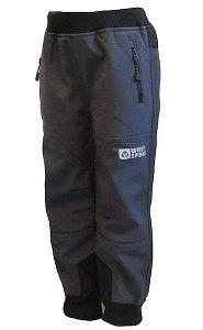 Chlapecké softshellové kalhoty Wolf zateplené (B2193), vel. 110, šedá
