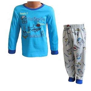 Chlapecké pyžamo Wolf (S2151B), vel. 98, tyrkysová