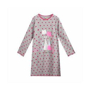 Dívčí noční košile Kugo (mn1325), vel. 140, šedá