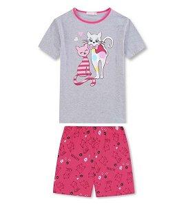 Letní komplet, pyžamo Kugo (MP1505), vel. 98, šedá