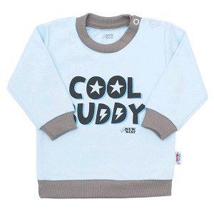 Kojenecké tričko New Baby With Love modré, vel. 74 (6-9m), Modrá