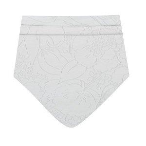 Kojenecký bavlněný šátek na krk New Baby NUNU bílý S, vel. S, Bílá