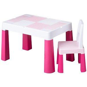 Dětská sada stoleček a židlička Multifun multicolor, Růžová