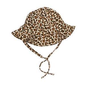 Kojenecká bavlněná čepička-klobouček Nicol Mia, vel. 80 (9-12m), Hnědá