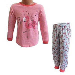 Dívčí pyžamo Wolf (S2152B), vel. 116, lososová