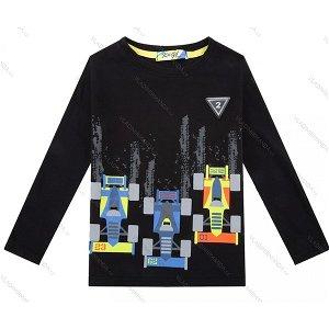 Chlapecké triko Kugo (M0210), vel. 110, černá