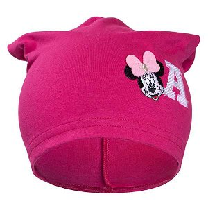 Podzimní dětská čepička New Baby Minnie růžová, vel. 110 (4-5r), Růžová