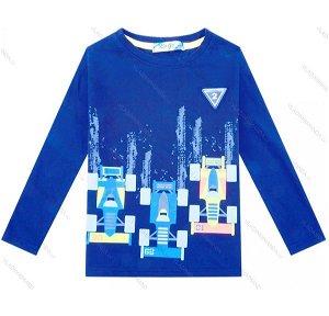 Chlapecké triko Kugo (M0210), vel. 98, Modrá