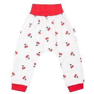 Kojenecké bavlněné tepláčky New Baby Cherry, vel. 62 (3-6m), Červená