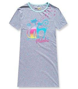 Dívčí noční košile Kugo (MP-1292), vel. 140, šedá