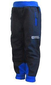 Chlapecké softshellové kalhoty Wolf zateplené (B2193), vel. 92, tm. modrá
