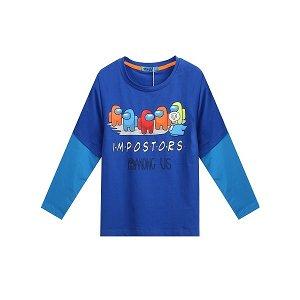 Chlapecké triko Kugo (HC0642), vel. 110, tm. modrá