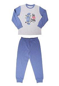 Chlapecké pyžamo Wolf (S2167), vel. 116, jeans