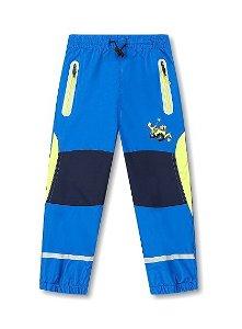 Dětské zateplené kalhoty Kugo (K6971), vel. 98, Modrá