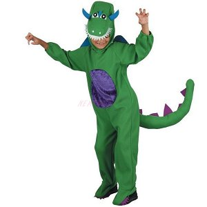 Dětský karnevalový kostým  Dinosaurus 120 - 130 cm