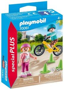 PLAYMOBIL® Special Plus 70061 Děti na kole a bruslích