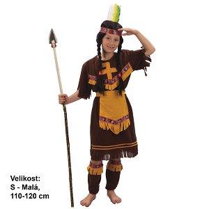 Karnevalový kostým INDIÁNKA