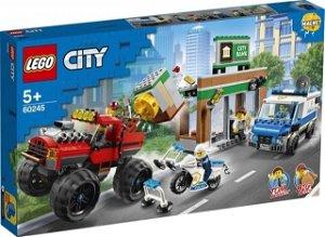Lego City 60245-Loupež s monster truckem