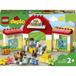 LEGO® DUPLO® 10951 Stáj s poníky